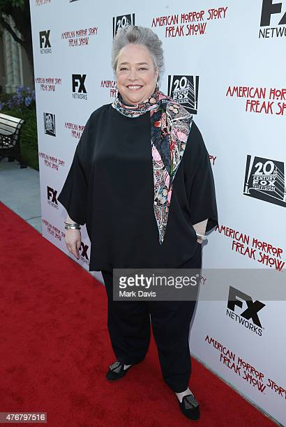 Actress Kathy Bates attends the 'For Your Consideration' special screening and QA for FX's 'American Horror Story Freakshow' held at Paramount...