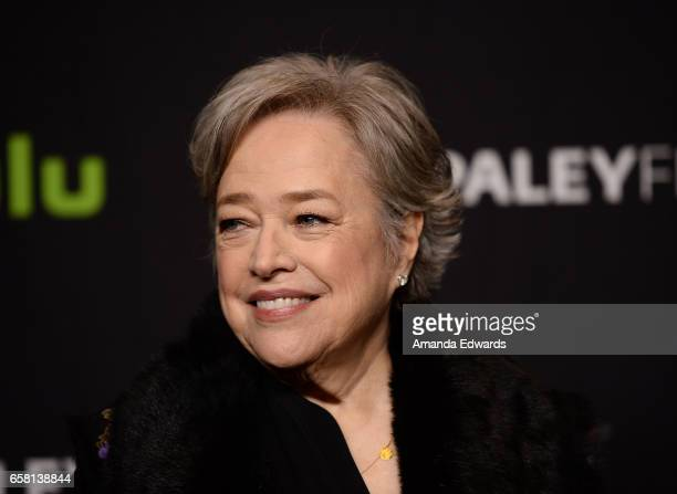 Actress Kathy Bates attends The Paley Center For Media's 34th Annual PaleyFest Los Angeles American Horror Story Roanoke screening and panel at the...