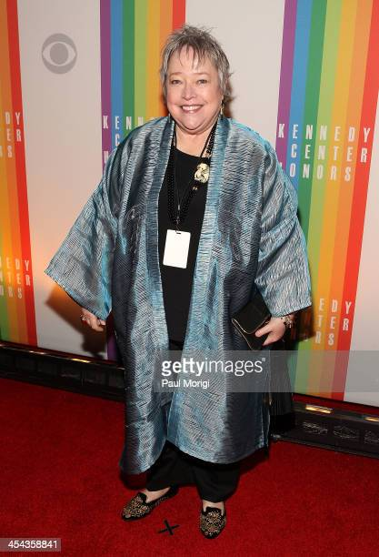 Actress Kathy Bates attends the The 36th Kennedy Center Honors gala at The Kennedy Center on December 8 2013 in Washington DC
