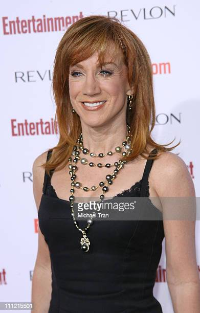 Actress Kathy Griffin arrives at the Entertainment Weekly's 5th Annual Pre-Emmy Party at Opera and Crimson on September 15, 2007 in Hollywood,...