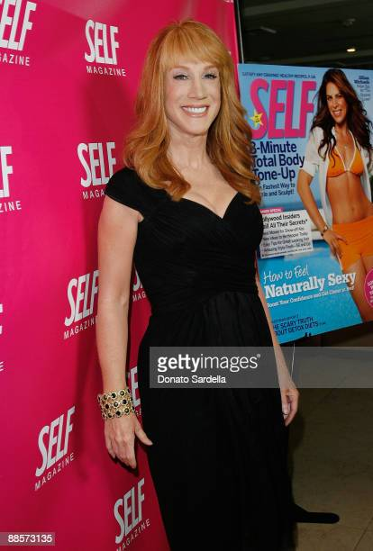 Actress Kathy Griffin attend SELF Magazine's celebration for their July LA issue at the Sunset Tower on June 18 2009 in West Hollywood California