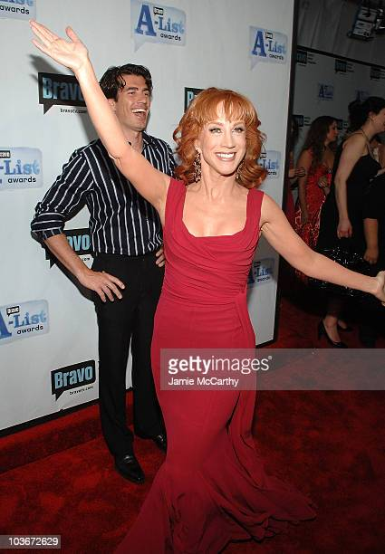 Actress Kathy Griffin attends Bravo's 1st AList Awards at the Hammerstein Ballroom on June 4 2008 in New York City