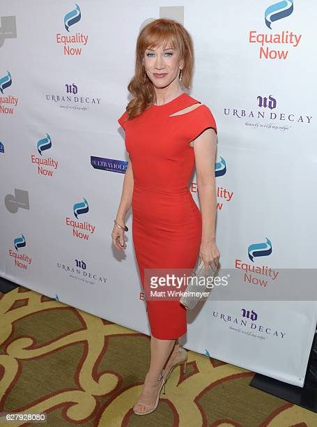 Actress Kathy Griffin attends Equality Now's third annual Make Equality Reality Gala on December 5 2016 in Beverly Hills California