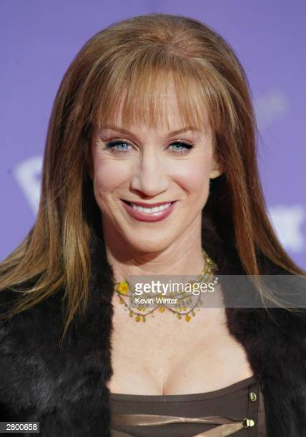 Actress Kathy Griffin attends the 2003 Billboard Music Awards at the MGM Grand Garden Arena December 10 2003 in Las Vegas Nevada The 14th annual...