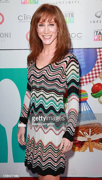 Actress Kathy Griffin attends the Los Angeles Times' Food Wine's The TASTE Grand Opening Party on September 2 2011 in Beverly Hills California