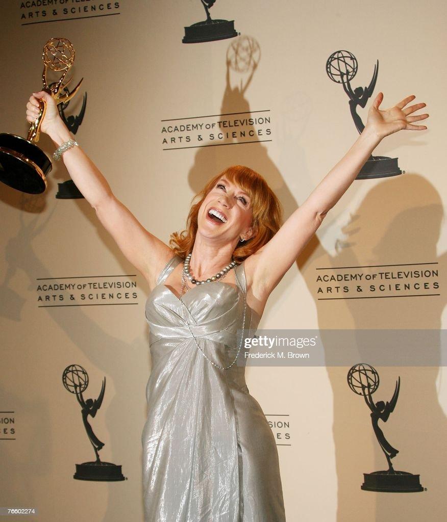 2007 Creative Arts Emmy Awards - Press Room : News Photo