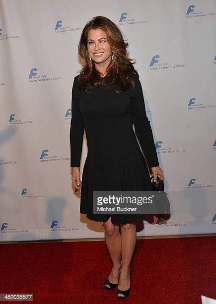 Actress Kathy Ireland arrives at the 37th Annual Saban Community Clinic Gala at The Beverly Hilton Hotel on November 25 2013 in Beverly Hills...