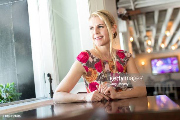 Actress Kathy Kolla attends the 5th Annual Team Up for Tourette's Red Carpet Brunch And Fundraiser at Preux Proper on June 09 2019 in Los Angeles...