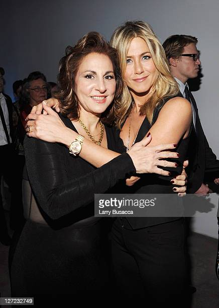 Actress Kathy Najimy and Executive Producer and Director Jennifer Aniston attend the premiere of Lifetime's Five from Jennifer Aniston Demi Moore...