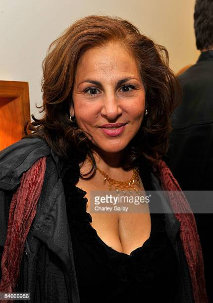 Actress Kathy Najimy attends the book launch for NOTE to SELF by Andrea Buchanan hosted by Sheryl Crow and Step Up Women's Network at MeRo on...