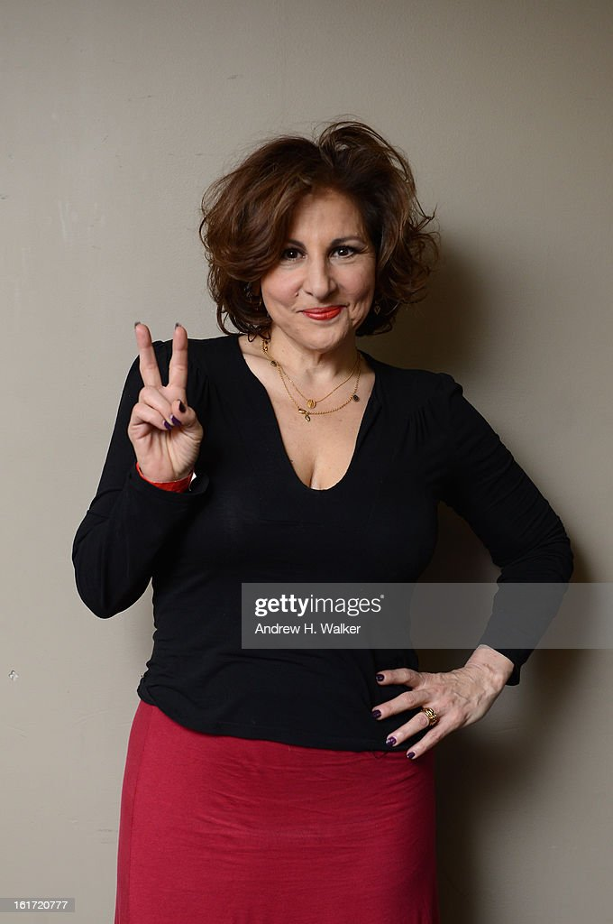Actress Kathy Najimy attends V-Day & One Billion Rising's RISE NYC at the Hammerstein Ballroom on February 14, 2013 in New York City.
