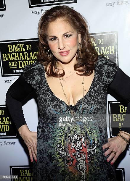 Actress Kathy Najimy poses at Back to Bacharach and David Opening Night at Henry Fonda Theatre on April 19 2009 in Hollywood California