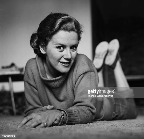 Actress Kathy Nolan pose in Los Angeles California