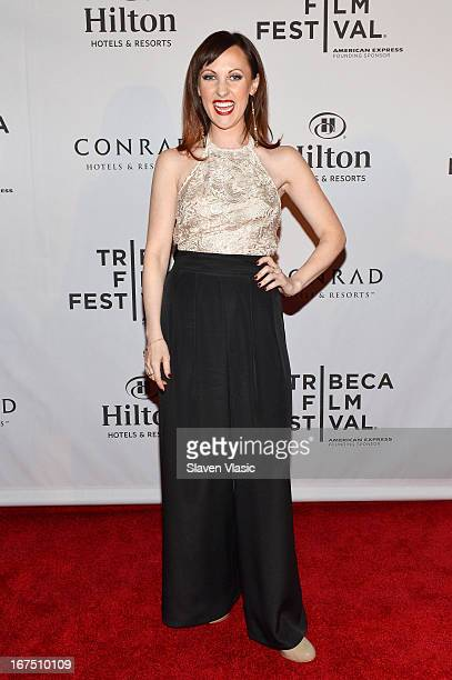 Actress Kathy Searle attends the TFF Awards Night during the 2013 Tribeca Film Festival on April 25 2013 in New York City