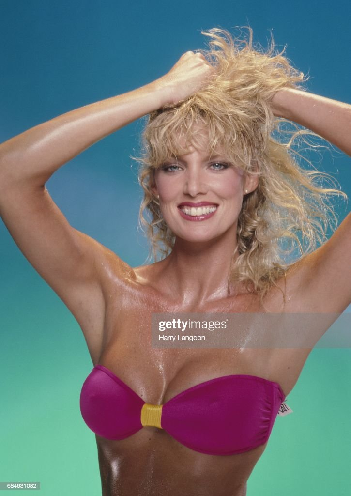 Actress Kathy Shower Poses For A Portrait In 1985 In Los Angeles California