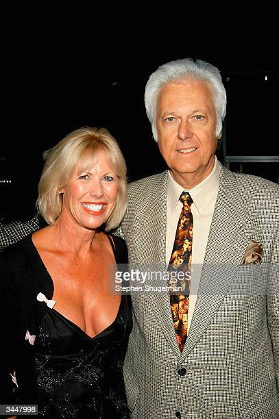 Actress Kathy Strong and Singer Jack Jones attend Salon XII at the Taper It's Magic celebrating the musical legacy of songwriter Sammy Cahn at the...