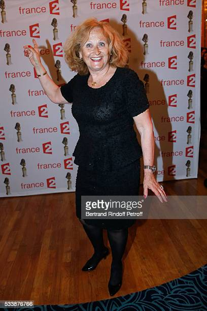 Actress Katia Tchenko attends La 28eme Nuit des Molieres on May 23 2016 in Paris France