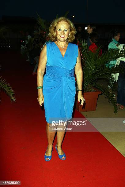Actress Katia Tchenko attends the red carpet closing ceremony of the 17th Festival of TV Fiction At La Rochelle on September 12 2015 in La Rochelle...