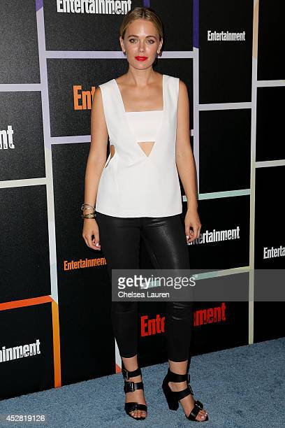 Actress Katia Winter arrives at Entertainment Weekly's Annual Comic Con Celebration at Float at Hard Rock Hotel San Diego on July 26, 2014 in San...