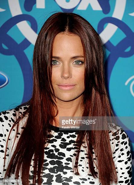 Actress Katia Winter arrives at the Fox Fall EcoCasino Party at The Bungalow on September 9 2013 in Santa Monica California