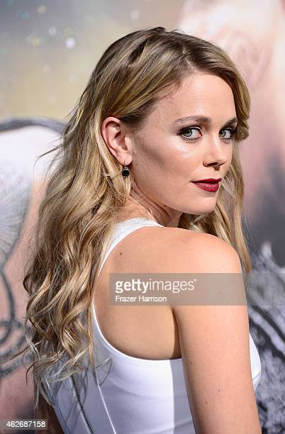 """Actress Katia Winter arrives at the Premiere of Warner Bros. Pictures' """"Jupiter Ascending"""" at TCL Chinese Theatre on February 2, 2015 in Hollywood,..."""