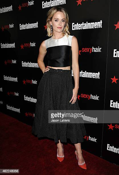 Actress Katia Winter attends the Entertainment Weekly celebration honoring nominees for the Screen Actors Guild Awards at Chateau Marmont on January...