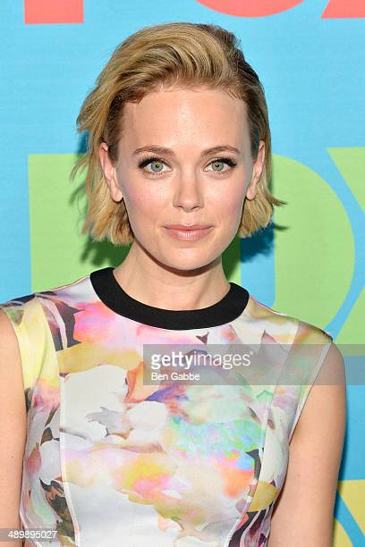 Actress Katia Winter attends the FOX 2014 Programming Presentation at the FOX Fanfront on May 12, 2014 in New York City.