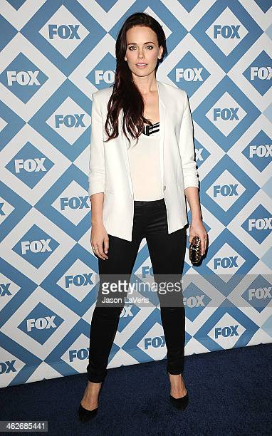 Actress Katia Winter attends the FOX AllStar 2014 winter TCA party at The Langham Huntington Hotel and Spa on January 13 2014 in Pasadena California