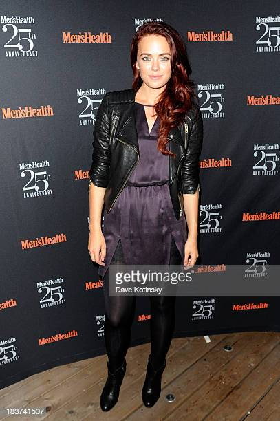 Actress Katia Winter attends the Men's Health 25th anniversary celebration at Isola Mondrian Soho Hotel on October 9 2013 in New York City