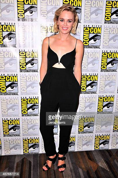 Actress Katia Winter attends the Sleepy Hollow Press Line during ComicCon International 2014 at Hilton Bayfront on July 25 2014 in San Diego...