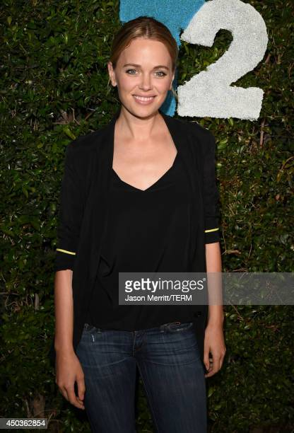 Actress Katia Winter attends the Take-Two E3 Kickoff Party at Cecconi's Restaurant on June 9, 2014 in Los Angeles, California.