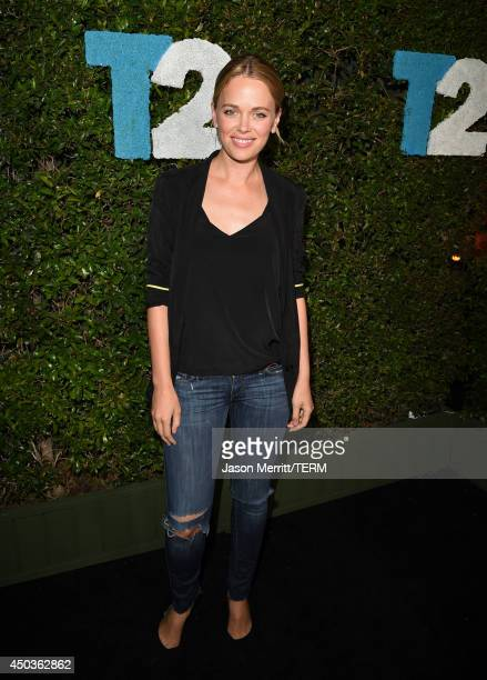 Actress Katia Winter attends the TakeTwo E3 Kickoff Party at Cecconi's Restaurant on June 9 2014 in Los Angeles California