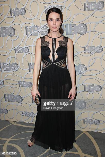 Actress Katie Aselton arrives at HBO's Official Golden Globe Awards after party at the Circa 55 Restaurant on January 8 2017 in Los Angeles California