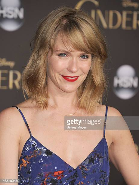Actress Katie Aselton arrives at the World Premiere of Disney's 'Cinderella' at the El Capitan Theatre on March 1, 2015 in Hollywood, California.