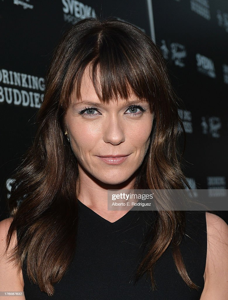Actress Katie Aselton arrives for the screening of Magnolia Pictures' 'Drinking Buddies' at ArcLight Cinemas on August 15, 2013 in Hollywood, California.