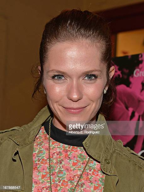 Actress Katie Aselton attends a screening of IFC Films' Frances Ha at the Vista Theatre on May 1 2013 in Los Angeles California