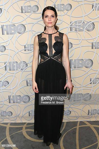 Actress Katie Aselton attends HBO's Official Golden Globe Awards After Party at Circa 55 Restaurant on January 8 2017 in Beverly Hills California