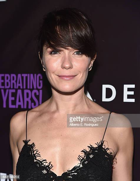 Actress Katie Aselton attends PS Arts' The pARTy at NeueHouse Hollywood on May 20 2016 in Los Angeles California