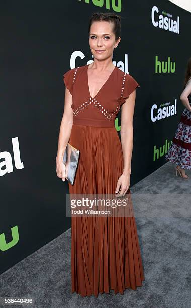 Actress Katie Aselton attends the 'Casual' Season 2 premiere and FYC event at ArcLight Hollywood on June 6 2016 in Los Angeles California