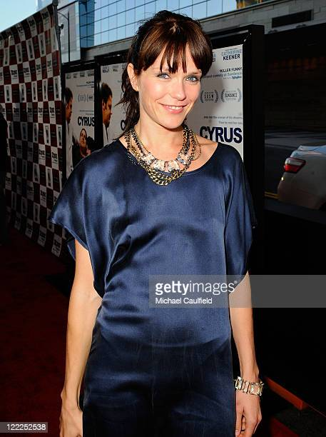 """Actress Katie Aselton attends the """"Cyrus"""" gala screening during the 2010 Los Angeles Film Festival held at Regal Cinemas at LA Live Downtown on June..."""