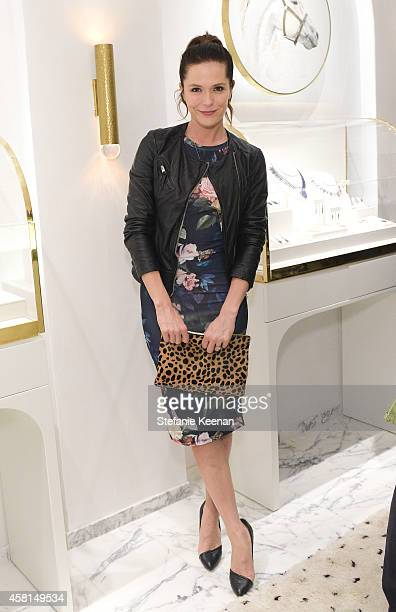 Actress Katie Aselton attends the Irene Neuwirth Flagship Grand Opening on October 30 2014 in West Hollywood California