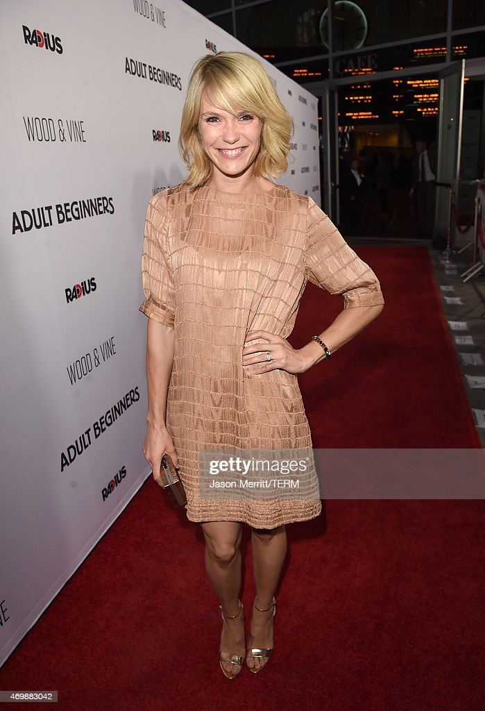 Actress Katie Aselton attends the premiere of 'Adult Beginners' at ArcLight Hollywood on April 15, 2015 in Hollywood, California.
