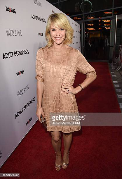Actress Katie Aselton attends the premiere of Adult Beginners at ArcLight Hollywood on April 15 2015 in Hollywood California