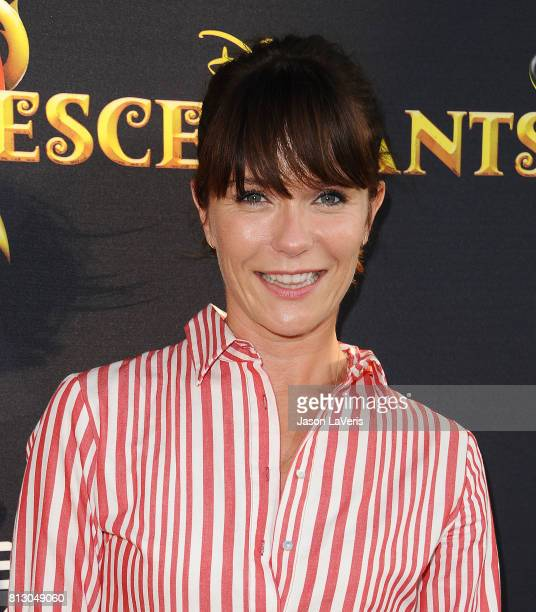Actress Katie Aselton attends the premiere of Descendants 2 at The Cinerama Dome on July 11 2017 in Los Angeles California