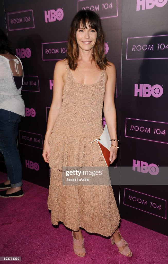 Actress Katie Aselton attends the premiere of 'Room 104' at Hollywood Forever on July 27, 2017 in Hollywood, California.