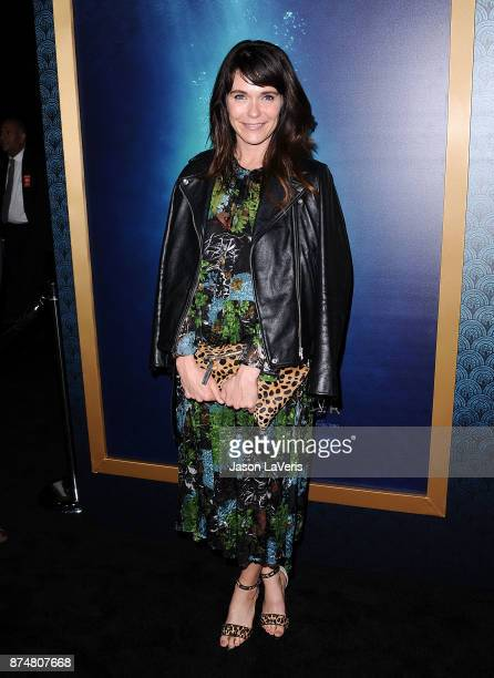 Actress Katie Aselton attends the premiere of 'The Shape of Water' at the Academy of Motion Picture Arts and Sciences on November 15 2017 in Los...