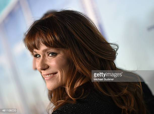 Actress Katie Asleton attends the premiere of HBO's Togetherness at Avalon on January 6 2015 in Hollywood California