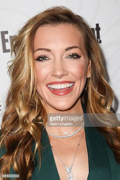 Actress Katie Cassidy arrives at the Entertainment Weekly celebration honoring nominees for The Screen Actors Guild Awards at the Chateau Marmont on...