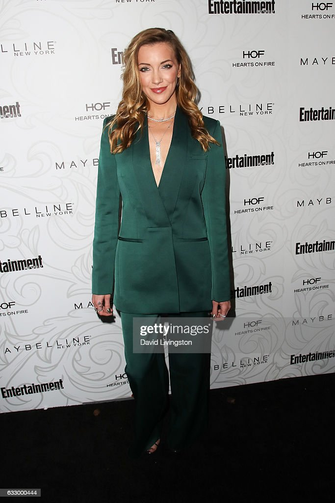 Actress Katie Cassidy arrives at the Entertainment Weekly celebration honoring nominees for The Screen Actors Guild Awards at the Chateau Marmont on January 28, 2017 in Los Angeles, California.