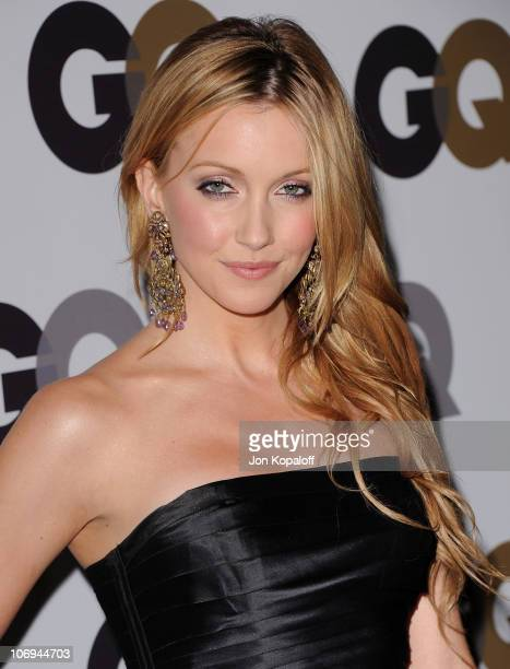 """Actress Katie Cassidy arrives at the GQ """"Men Of The Year"""" Party at Chateau Marmont on November 17, 2010 in Los Angeles, California."""